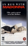 IN BED WITH MADONNA - OFFICIAL UK VHS VIDEO